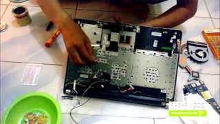 Asus X450JN Core i7 Unbox and Disassemble - Video 2