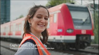 DB-Lokführerin bei der S-Bahn München