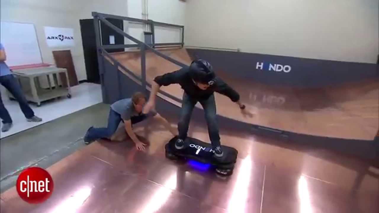 Hendo Hoverboard обзор тест | Первый летающий парящий скейтборд | Параметры характеристики описание