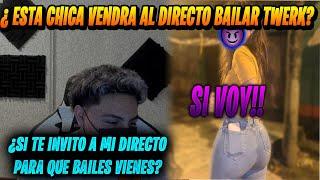 Esta CHICA  pone *FIERRO* a TODO EL CHAT | VENDRA A BAILAR TWERK*NG?