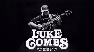 Luke Combs - Beer Never Broke My Heart (lyrics) Video