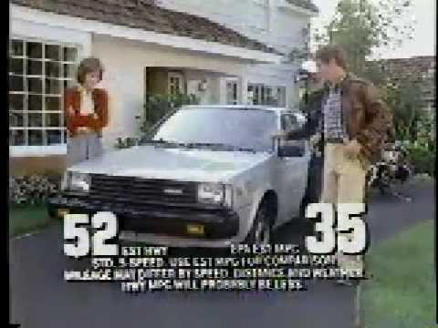 1983 Nissan Sentra commercial  YouTube