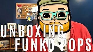 Unboxing Funko Pops