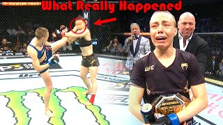 ONE KICK!!! What Really Happened (Zhang Weili vs Rose Namajunas)