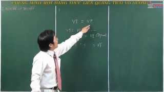 Hình học lớp 10 - Tích vô hướng của hai vecto - Chứng minh một đẳng thức liên quang tích vô hướng