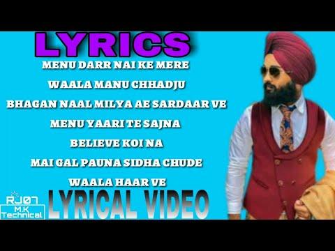 MERE WALA SARDAR SONG | LYRICS | JUGRAJ SANDHU | LYRICAL VIDEO |
