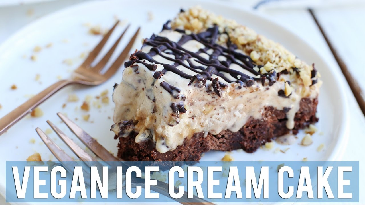 Vegan Ice Cream Cake Easy Vegan Desserts Youtube