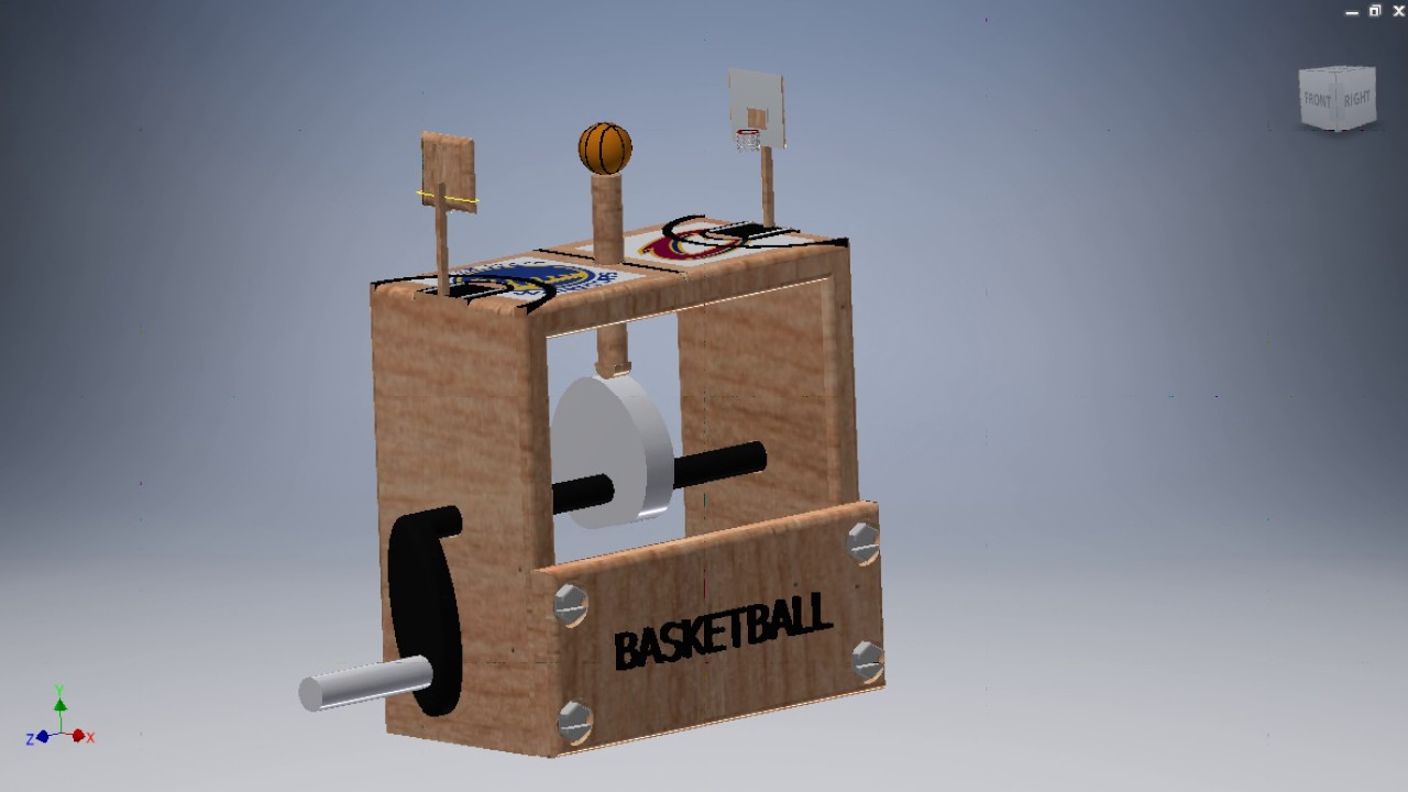 mrsgaska PLTW DDP Basketball AUTOMATA by Brian 2017 - YouTube