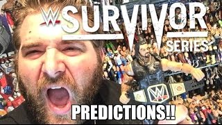 WWE Survivor Series 2015 Predictions! WWE World Heavyweight Championship Tournament!
