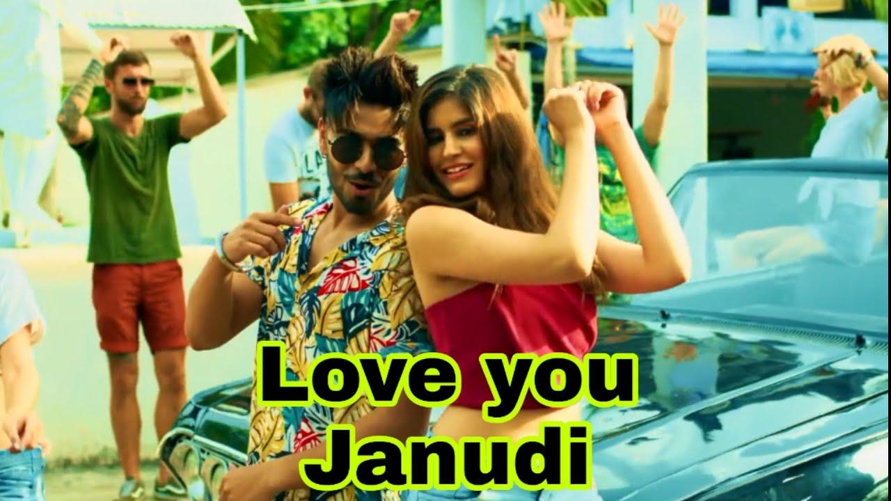 Love you Janudi full video song status   i love you janudi tik tok Viral Song