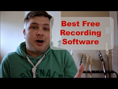 Best FREE Recording Software ( Recording Music For Beginners)