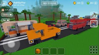Block Craft 3D: Building Simulator Games For Free Gameplay #663 (iOS & Android) | Highway Traffic screenshot 4
