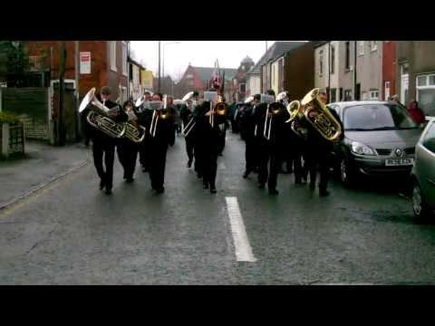 Tyldesley Brass Band St Georges Parade Slaidburn