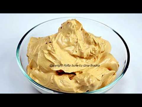 Crema RAPIDA de mascarpone si cafea-ness sau cacao