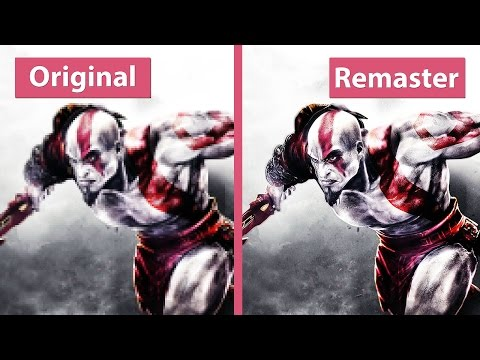 God of War 3 – PS3 vs. PS4 Remastered Graphics Comparison [60fps][FullHD]