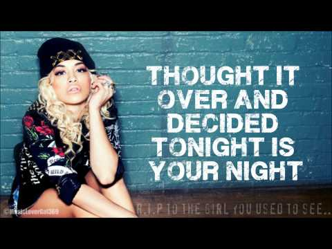 Rita Ora - R.I.P ft.Tinie Tempah - Lyrics On-screen