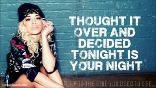 Rita Ora - R.I.P ft.Tinie Tempah - Lyrics On-screen