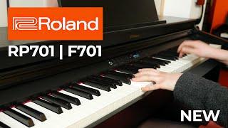 Video: Piano Digitale Roland RP-701CB