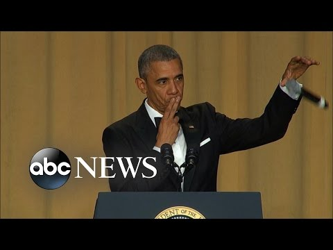 President Obama Drops the Mic | White House Correspondents' Dinner 2016