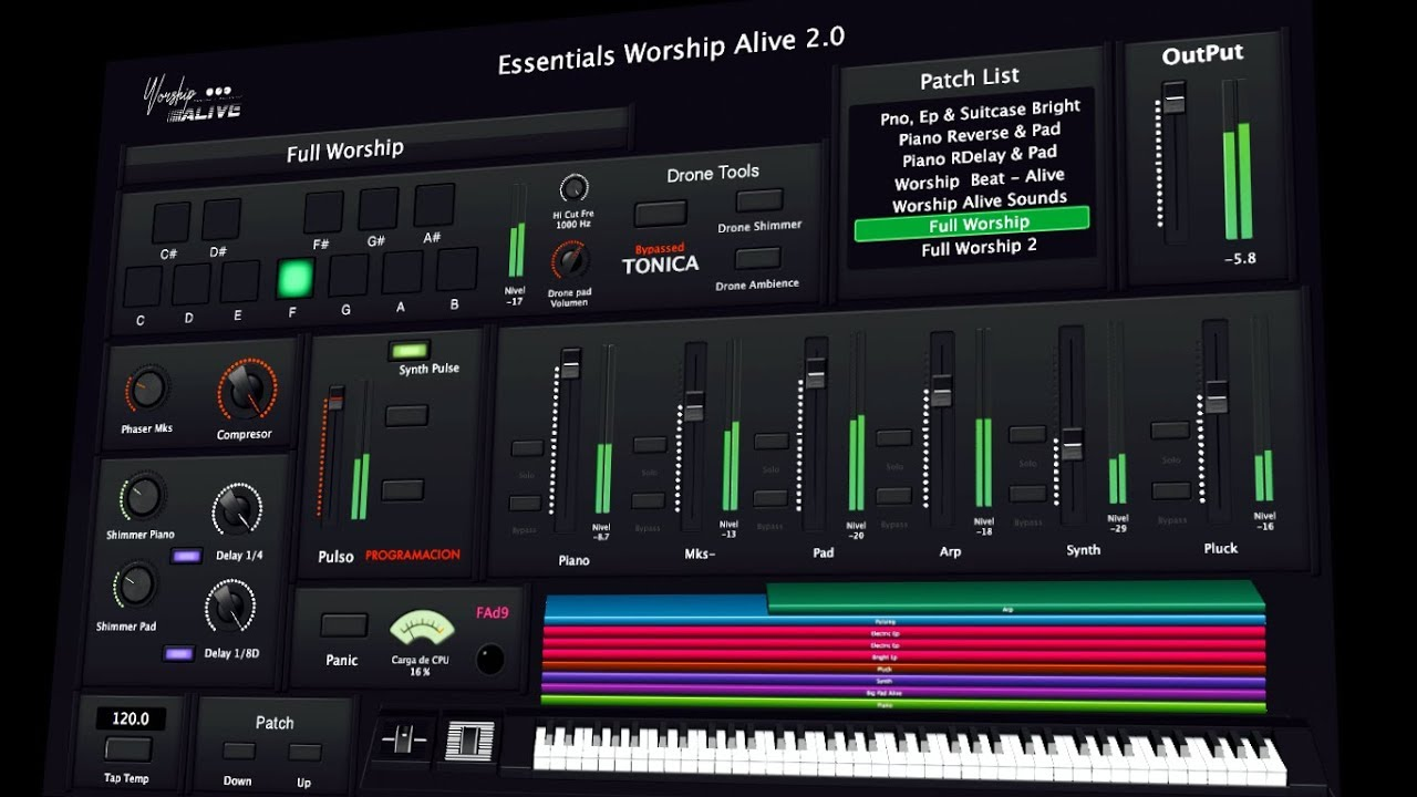 Essentials Worship Alive 2 0 - for MainStage 3