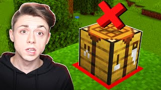 How to beat Minecraft WITHOUT CRAFTING?!