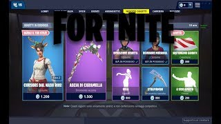 """SHOP"" DECEMBER 19/12 NEW SKIN INCURSOR RENNA - CARAMELLA ASCIA! FORTNITE NEGOZIO DAILY"