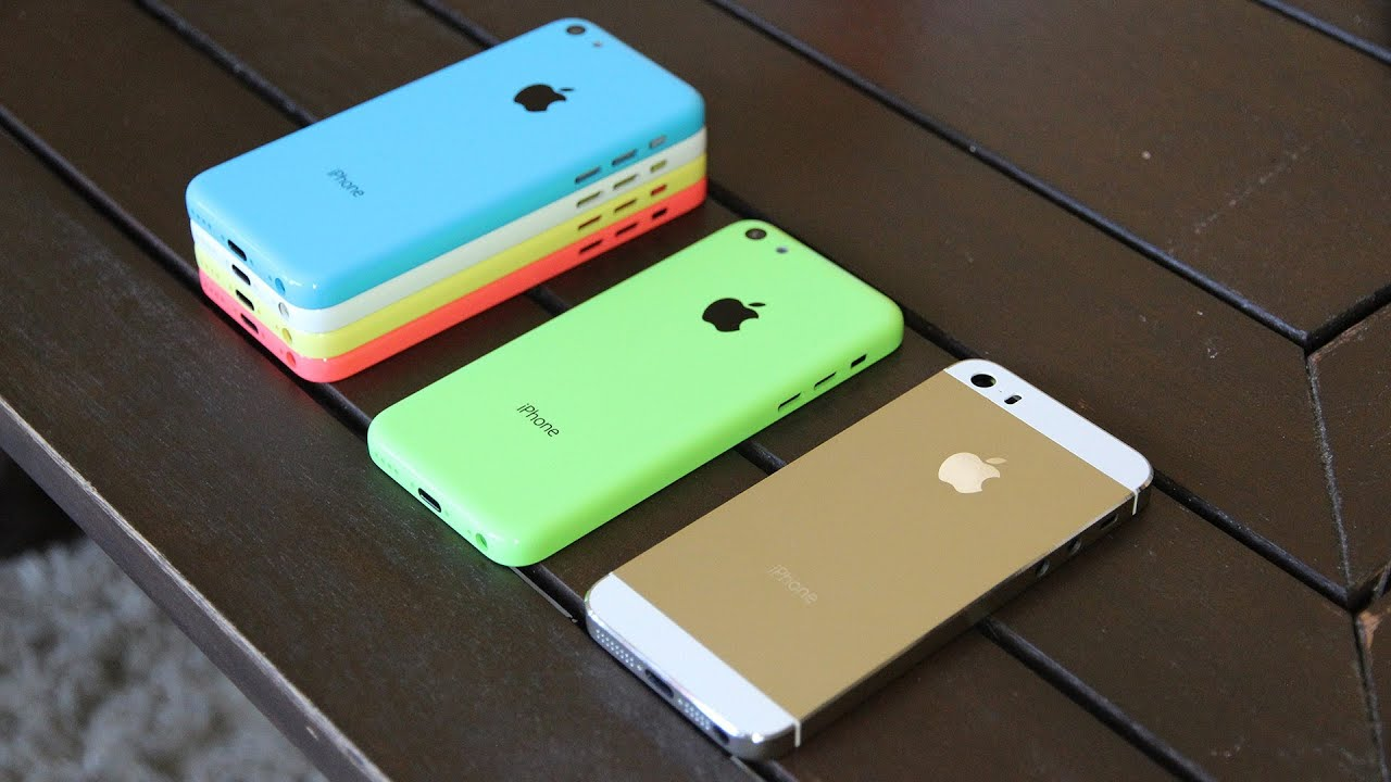 iphone 5c colors. gold iphone 5s review: champagne housing vs 5c all colors hands-on - youtube iphone 5c