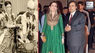 Nita Ambani Married Mukesh Ambani On This Condition   Lehren Retro