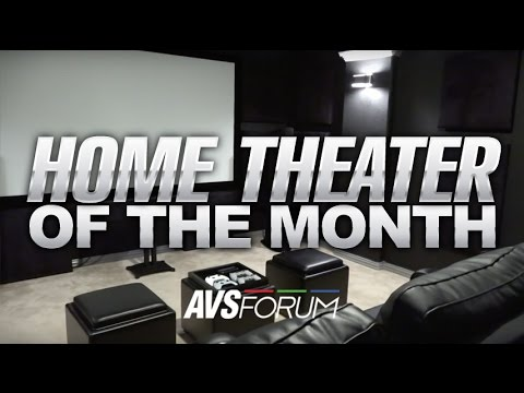 Home Theater of the Month - The Bigham Theater - YouTube