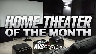 Home Theater of the Month - The Bigham Theater