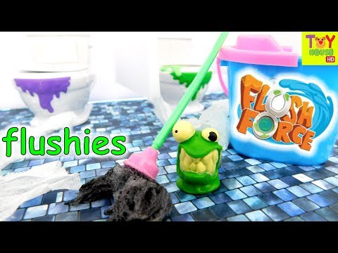 New FLUSH FORCE from Spin Master | Flushies Escape the Bathroom