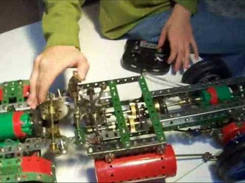 AMAZING AMERICAN TRUCK MECCANO HOT ROD 4x4 CUSTOM BUILT DEC2008