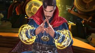 Marvel Future Fight - Captain Marvel & Doctor Strange World Boss Gameplay