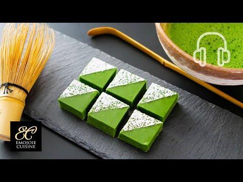 抹茶の生チョコの作り方 / 簡単手作りバレンタインチョコ  |  ASMR Cooking sounds - YouTube