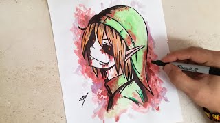 ben drowned drawing lesson