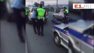 Ночное задержание пьяного водителя