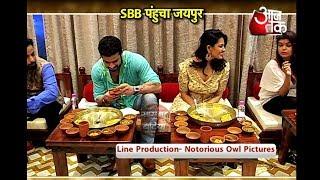 Anita Hassnandani & Karan Patel at Cook Studio Finale