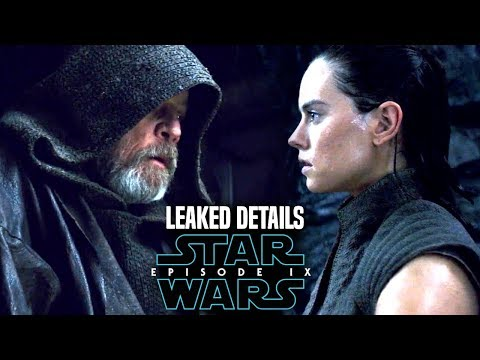 Luke's Secret Of Rey In Episode 9 Leaked! & More (Star Wars News)