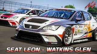Mein eigener Skin!   Assetto Corsa German Gameplay [GER] [HD] Seat Leon TCR @ Watkins Glen