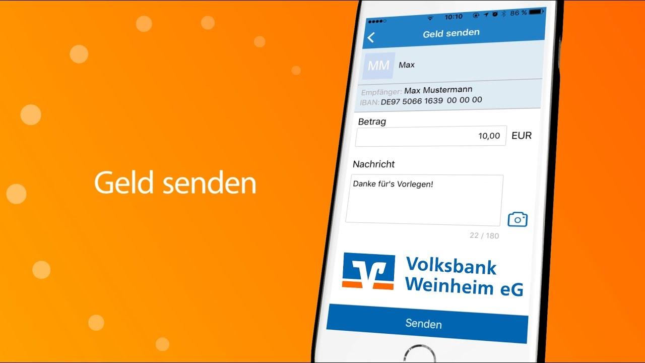 online geld senden brauche schnell geld