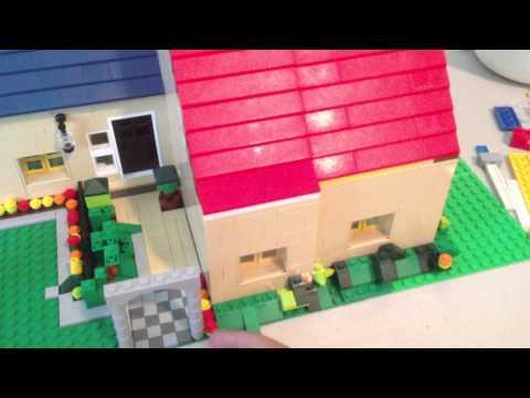 Lego MOC - Whitehouse Exterior Tour