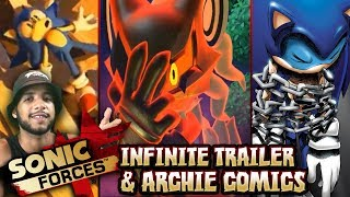 Sonic Forces Infinite Trailer LIVE REACTIONS & Archie Comics Done :( w/Cobanermani456