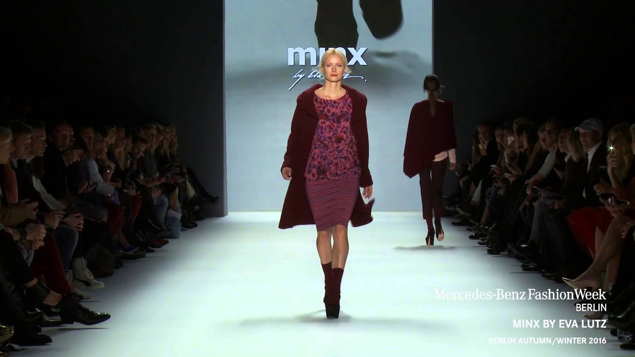 Minx By Eva Lutz Mercedes Benz Fashion Week Berlin Aw2016 Youtube