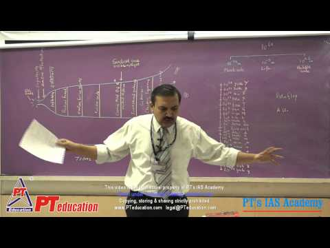 Universe and the Solar System - PT's IAS Academy - Sample lecture 2 - by Sandeep Manudhane sir
