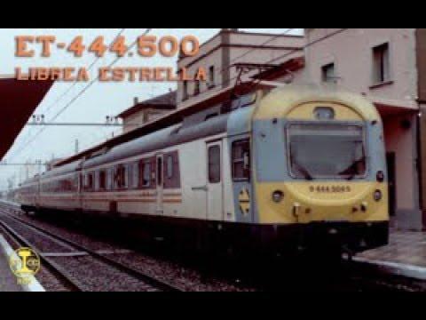 Electrotren Serie 444500 Documental