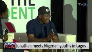 Jonathan Meets Nigerian Youths In Lagos 1