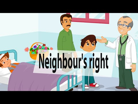 Neighbour's right - Islamic cartoon