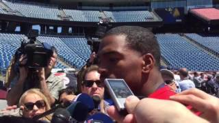 Jacoby Brissett on learning from Tom Brady