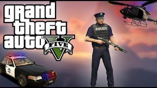 GTA 5 ONLINE || How to get the cop uniform!!