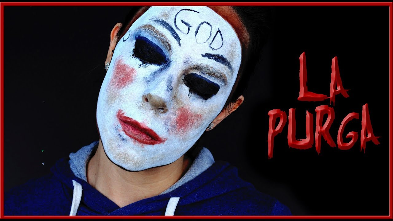 Tutorial Maquillaje La Purga Para Halloween Silvia Quiros Youtube